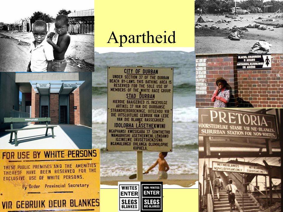 """Apartheid Stegreif """"Busstop 1948 – 1994 Konzept der Rassentrennung"""