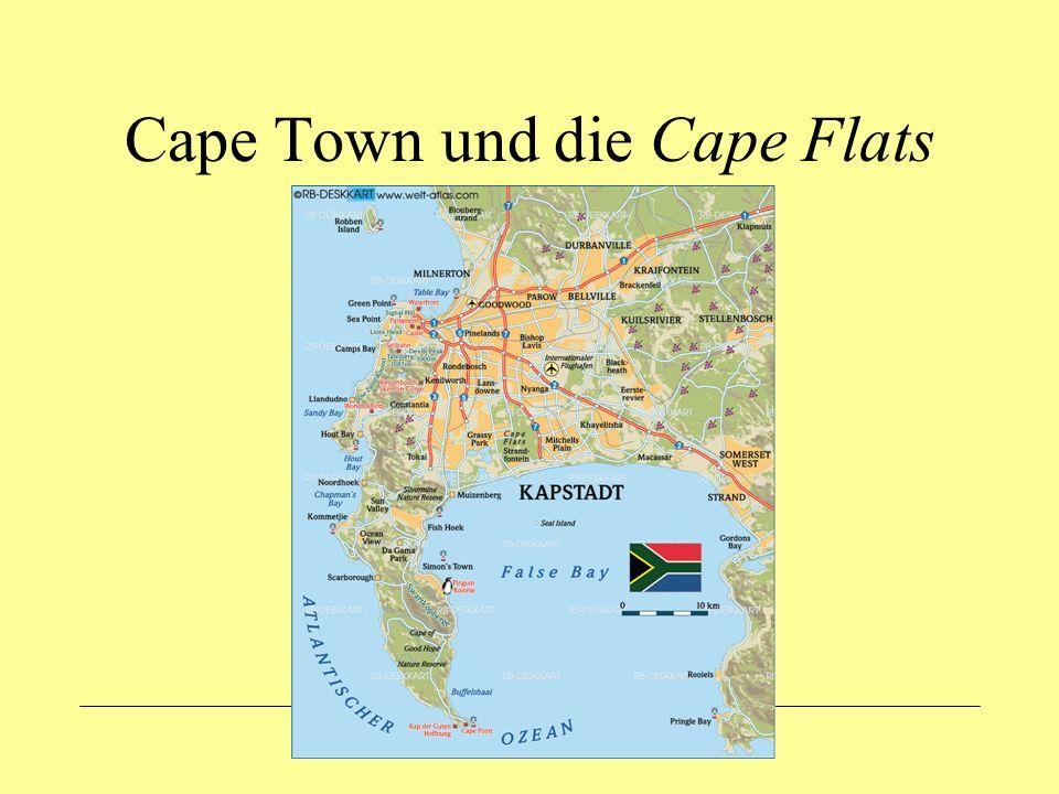 Cape Town und die Cape Flats