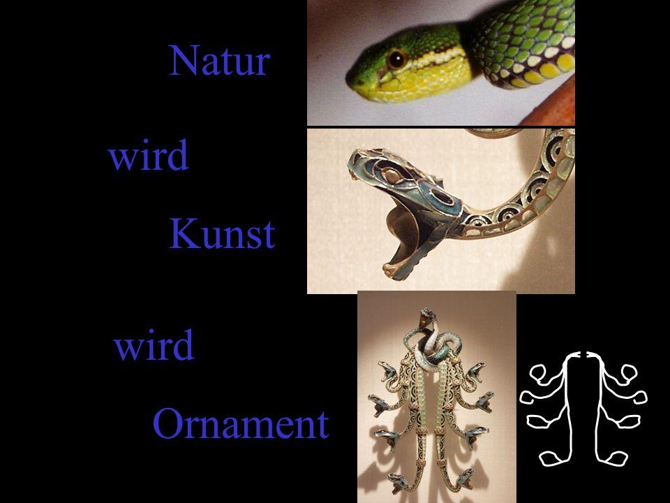Natur wird Kunst Ornament wird