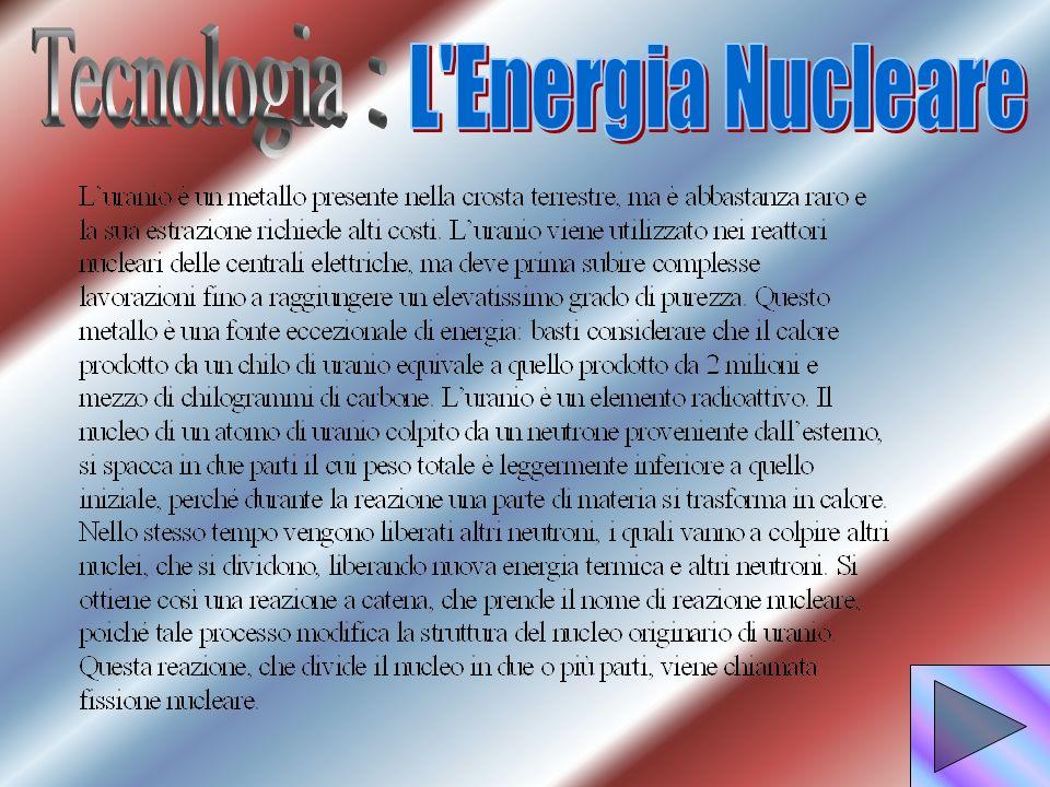 Tecnologia : L Energia Nucleare