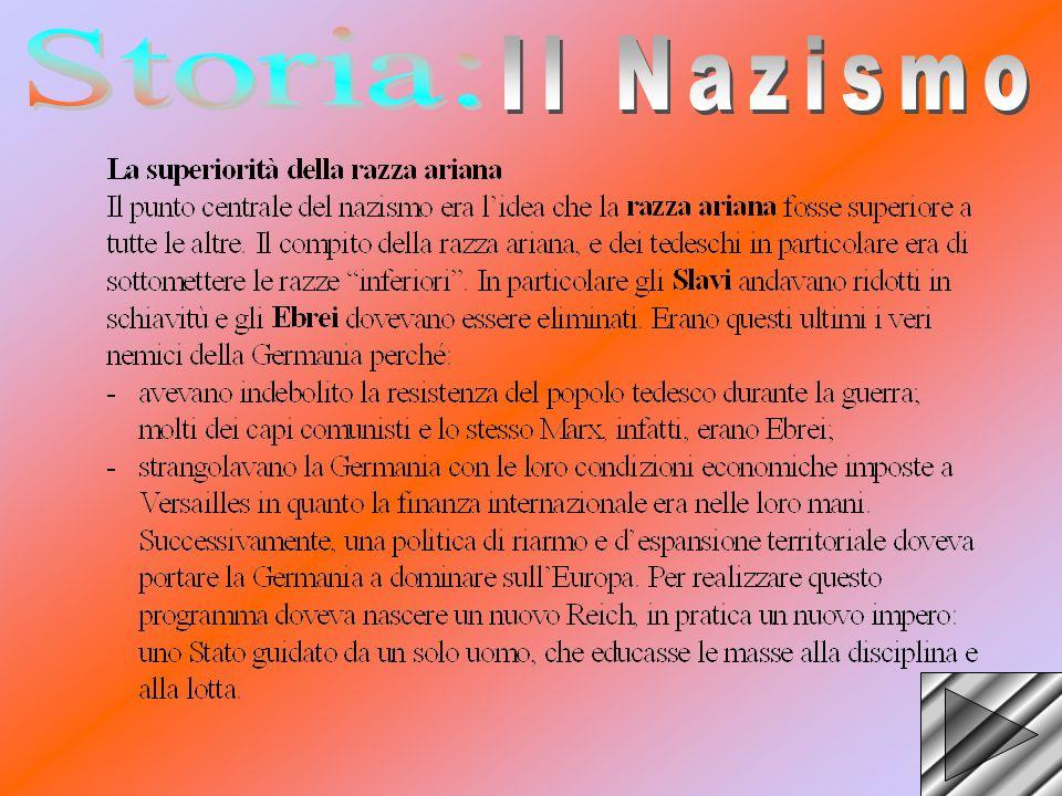 Storia: Il Nazismo