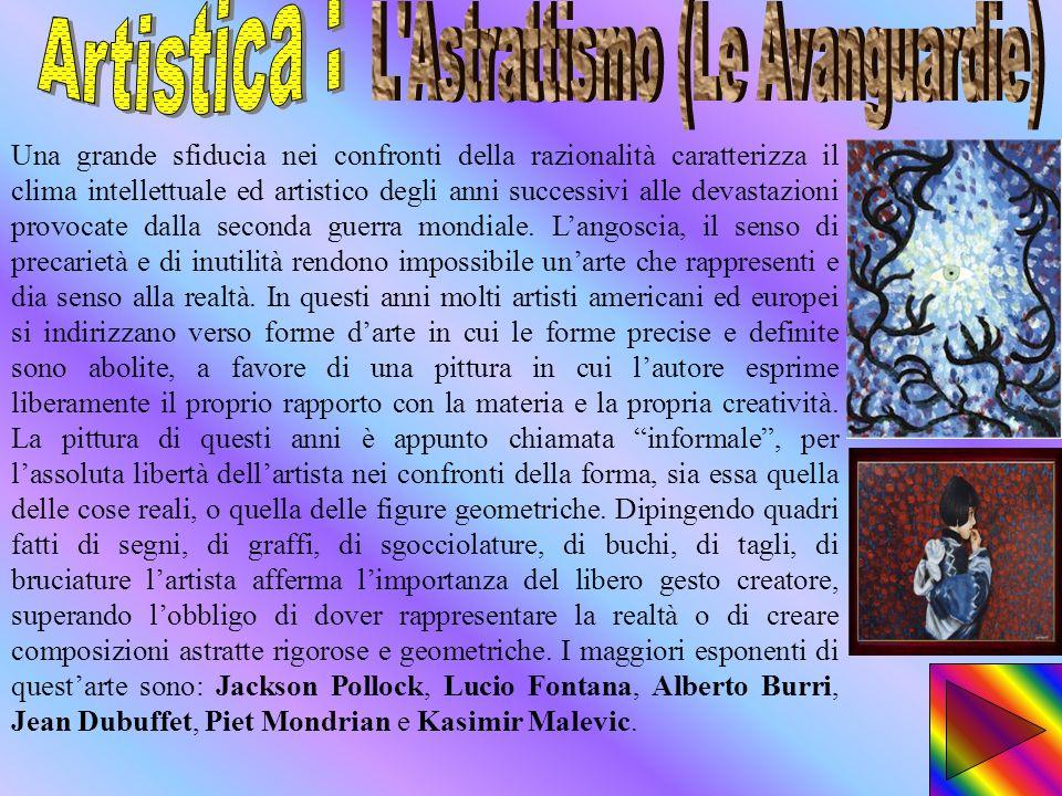 L Astrattismo (Le Avanguardie)