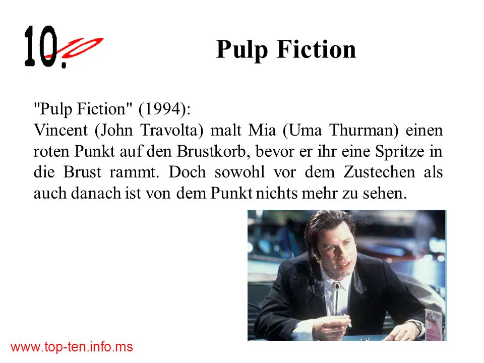 Pulp Fiction Pulp Fiction (1994):