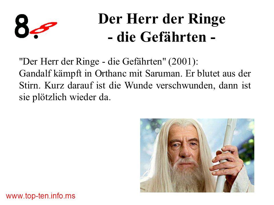 Der Herr der Ringe - die Gefährten -