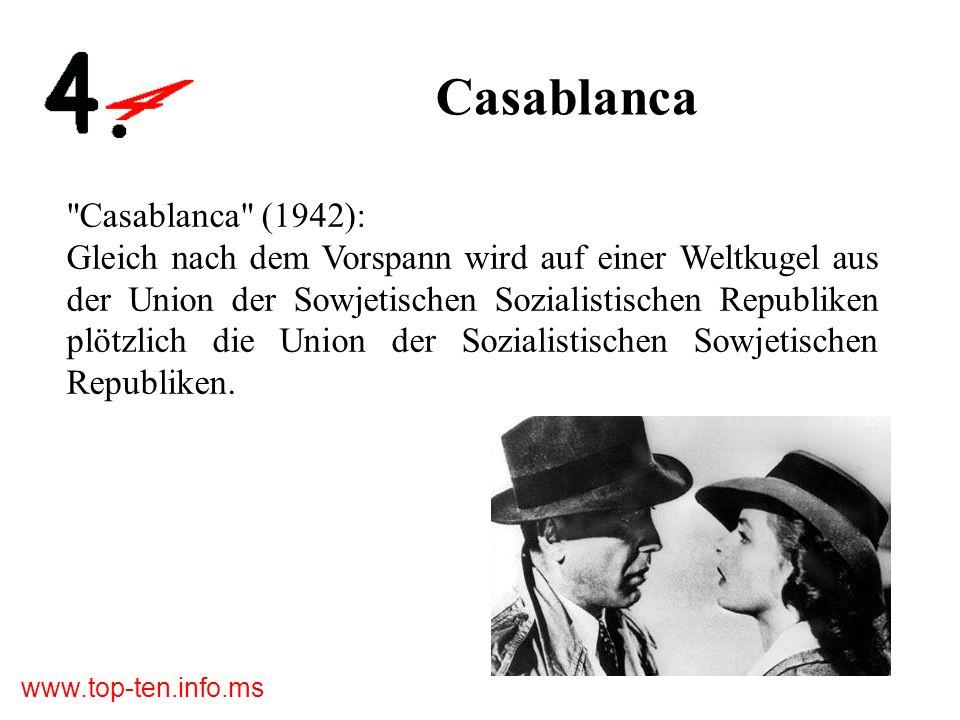 Casablanca Casablanca (1942):