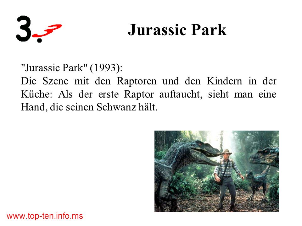 Jurassic Park Jurassic Park (1993):