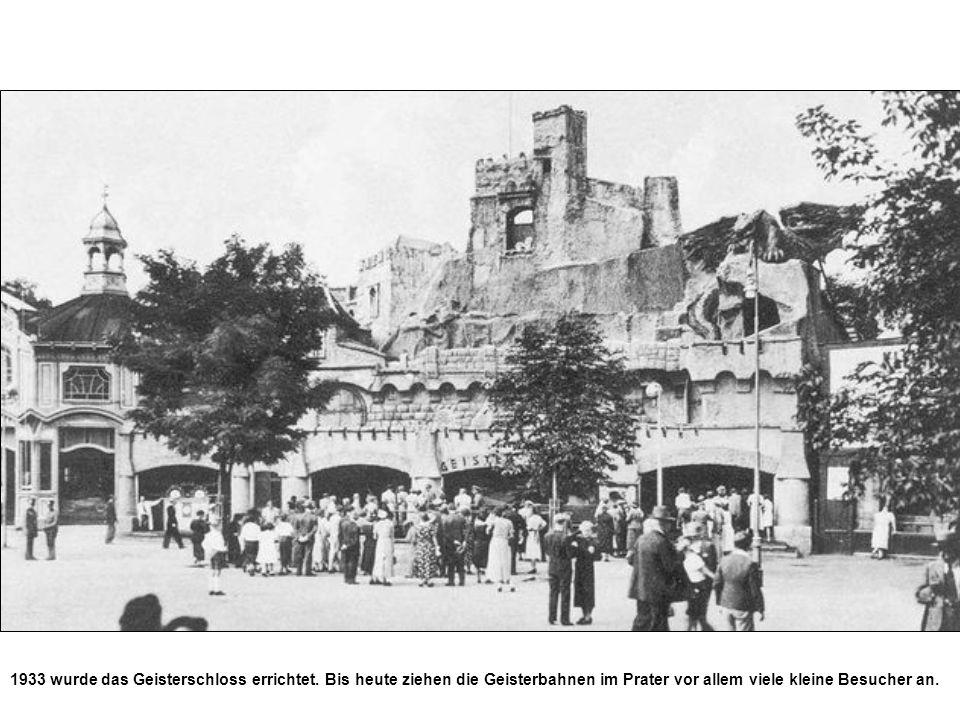 1933 wurde das Geisterschloss errichtet