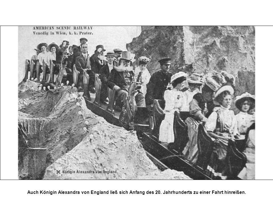 Auch Königin Alexandra von England ließ sich Anfang des 20