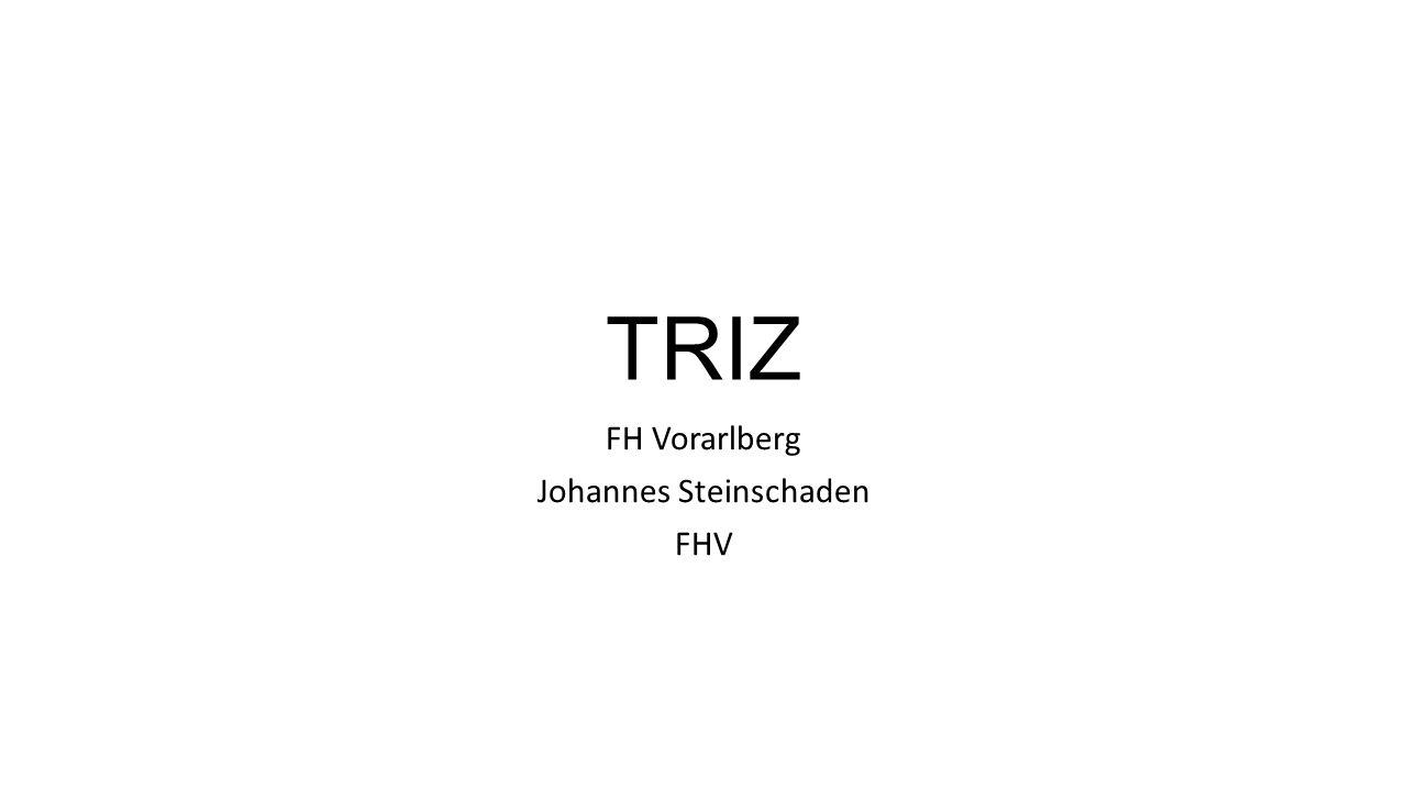 FH Vorarlberg Johannes Steinschaden FHV