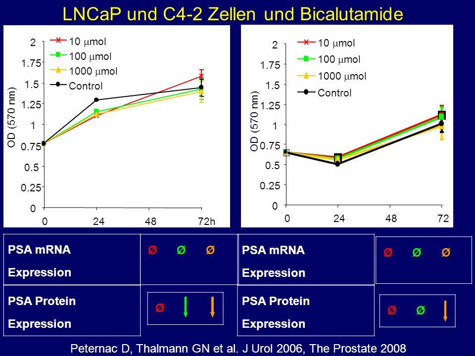 LNCaP und C4-2 Zellen und Bicalutamide