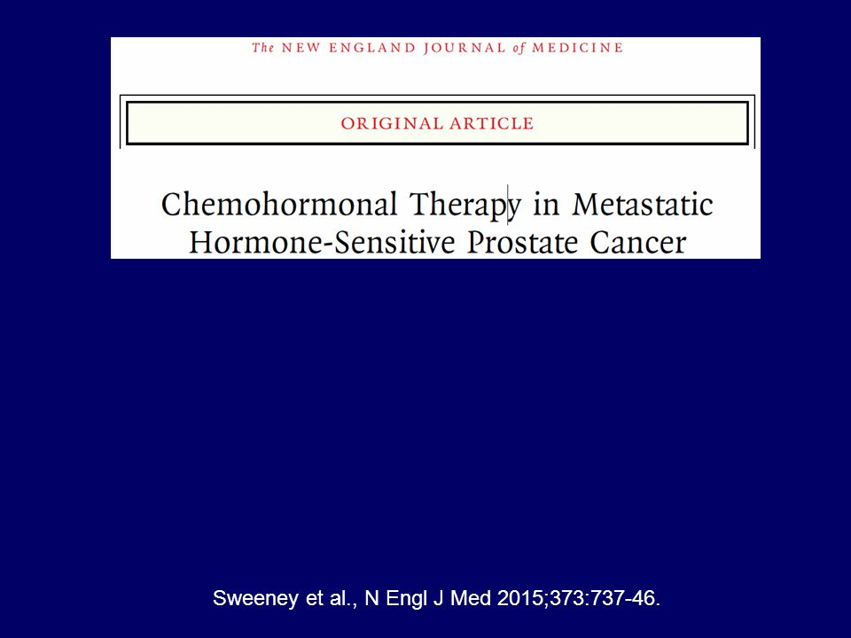 Sweeney et al., N Engl J Med 2015;373:737-46.