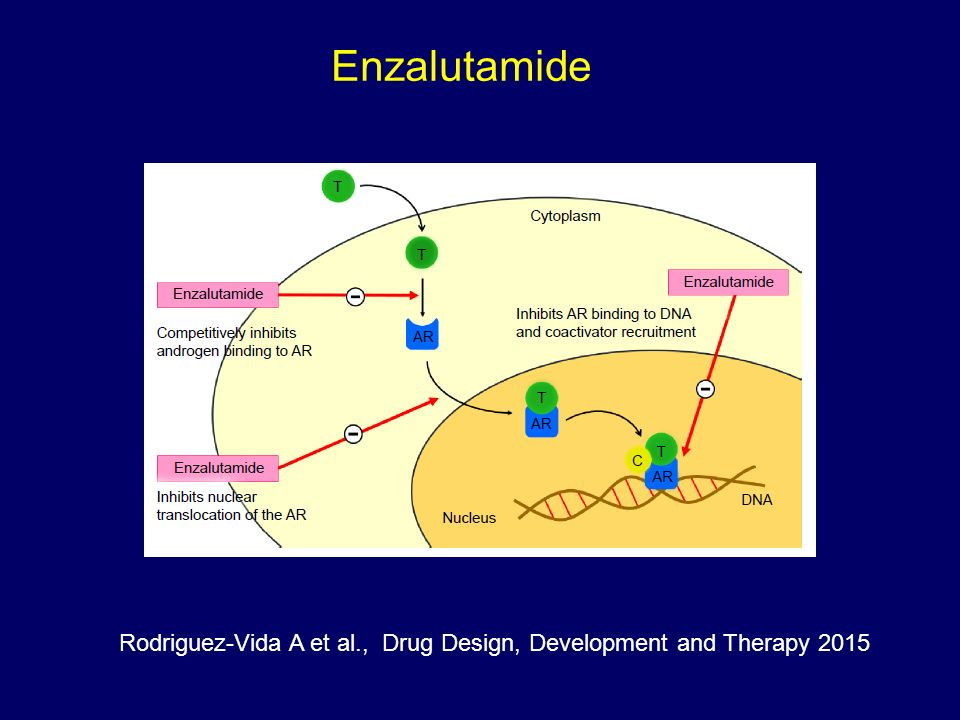 Enzalutamide Rodriguez-Vida A et al., Drug Design, Development and Therapy 2015