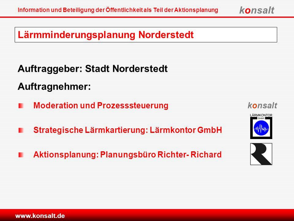 Lärmminderungsplanung Norderstedt