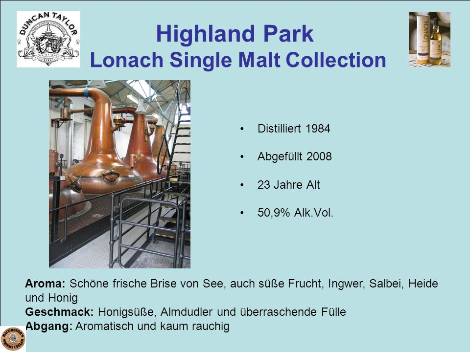 Highland Park Lonach Single Malt Collection