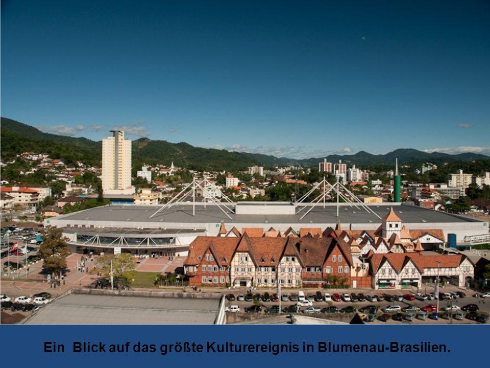 Ein Blick auf das größte Kulturereignis in Blumenau-Brasilien.