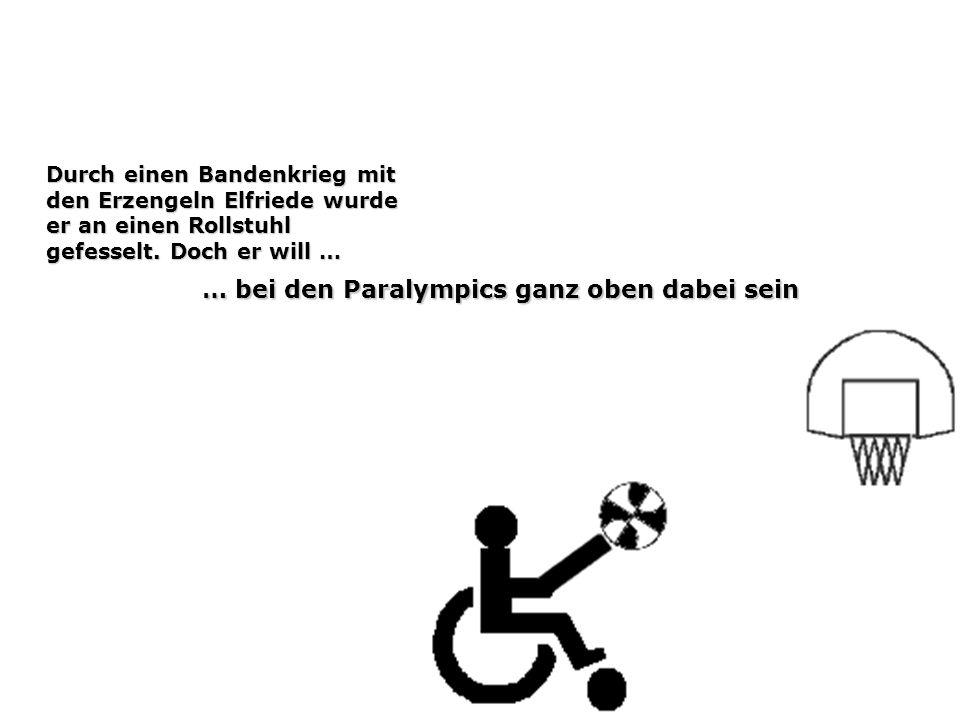 … bei den Paralympics ganz oben dabei sein