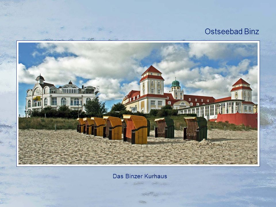 Ostseebad Binz Das Binzer Kurhaus