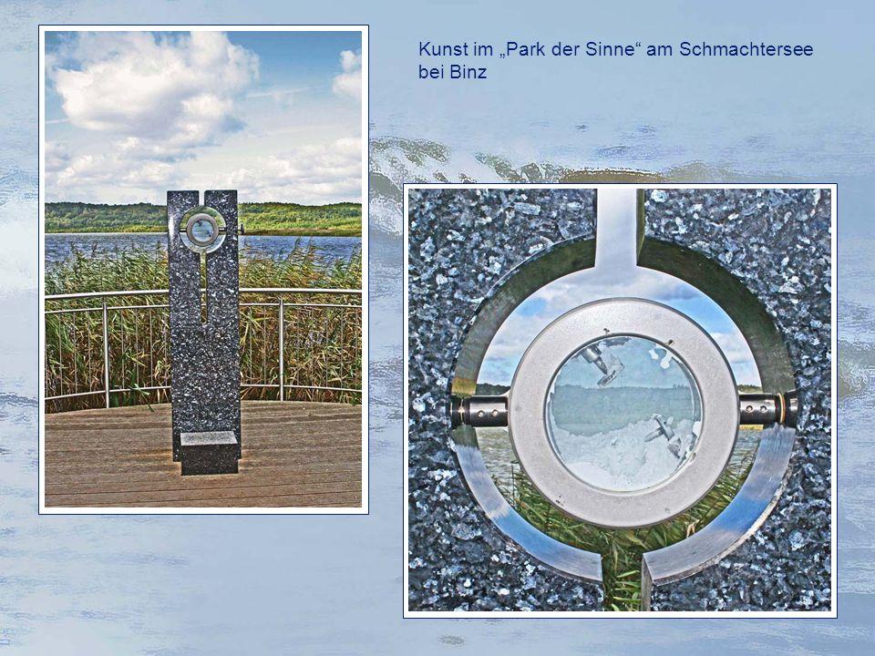 """Kunst im """"Park der Sinne am Schmachtersee bei Binz"""