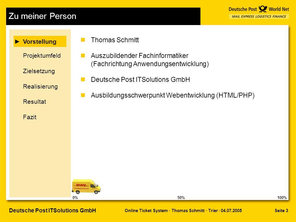 Zu meiner Person Thomas Schmitt