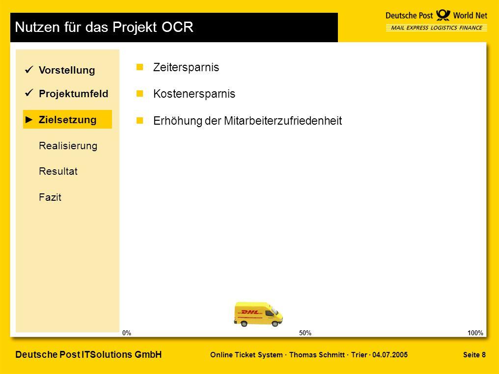 Nutzen für das Projekt OCR