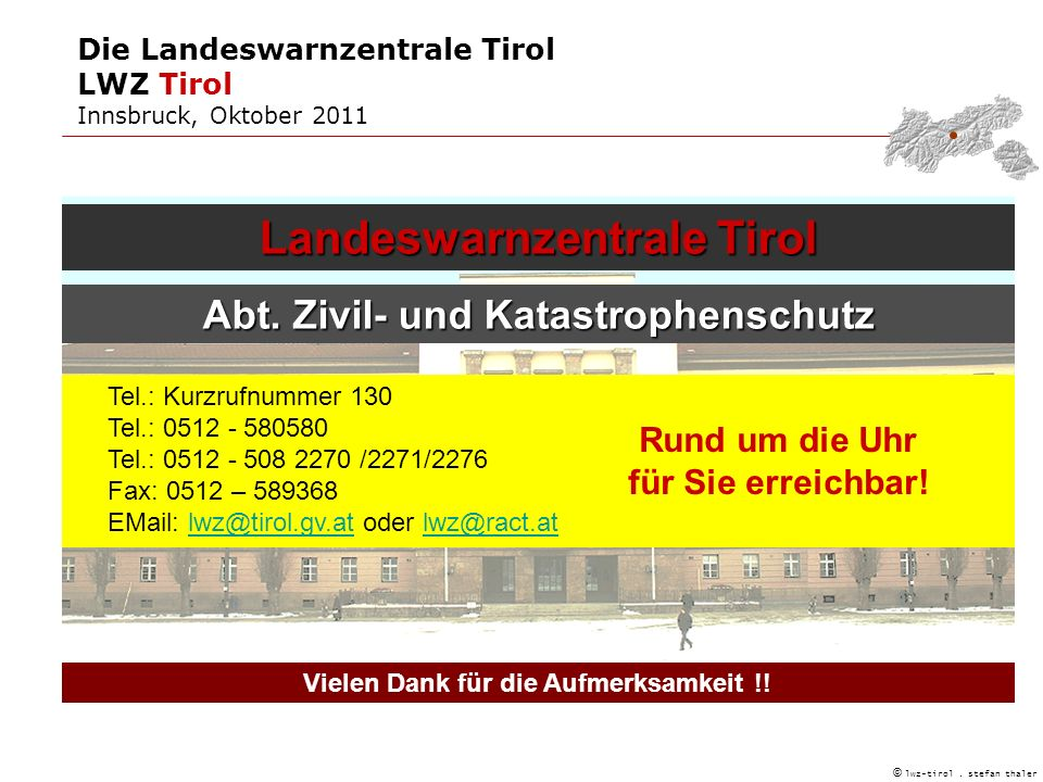 Landeswarnzentrale Tirol