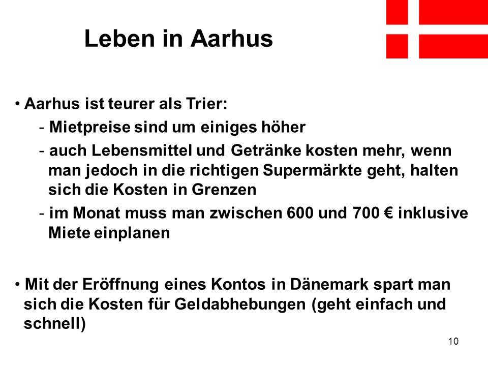 Leben in Aarhus Aarhus ist teurer als Trier: