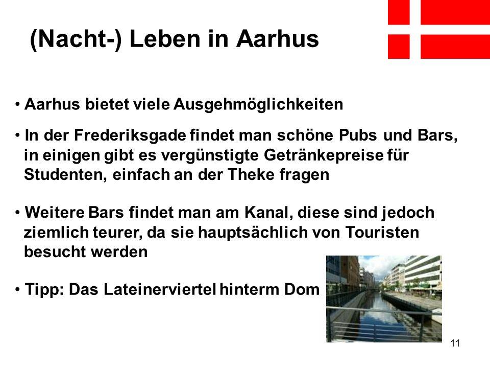 (Nacht-) Leben in Aarhus