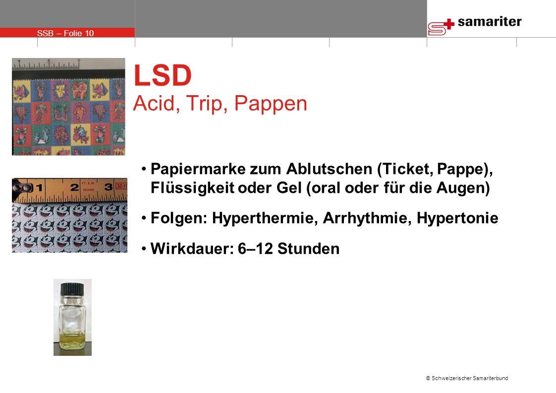 LSD Acid, Trip, PappenPapiermarke zum Ablutschen (Ticket, Pappe), Flüssigkeit oder Gel (oral oder für die Augen)