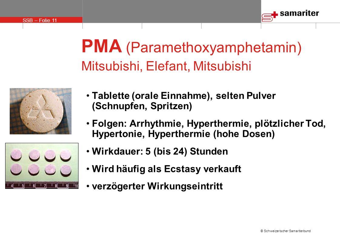 PMA (Paramethoxyamphetamin) Mitsubishi, Elefant, Mitsubishi