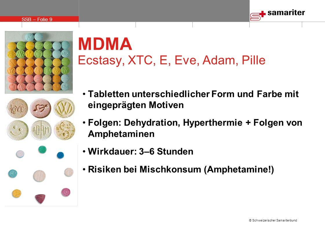 MDMA Ecstasy, XTC, E, Eve, Adam, Pille