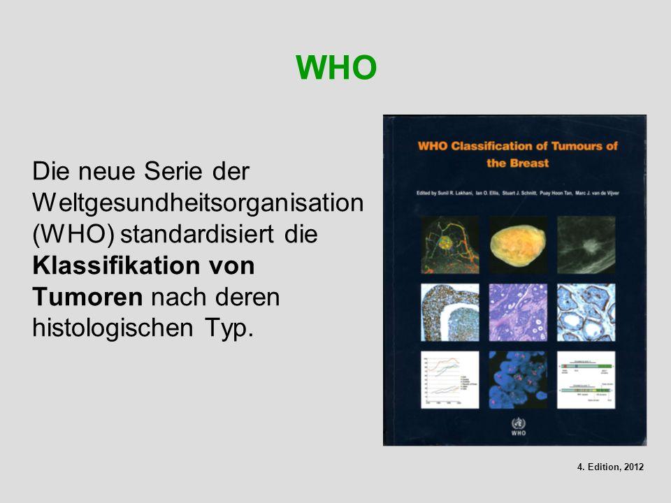 WHO Die neue Serie der Weltgesundheitsorganisation (WHO) standardisiert die Klassifikation von Tumoren nach deren histologischen Typ.