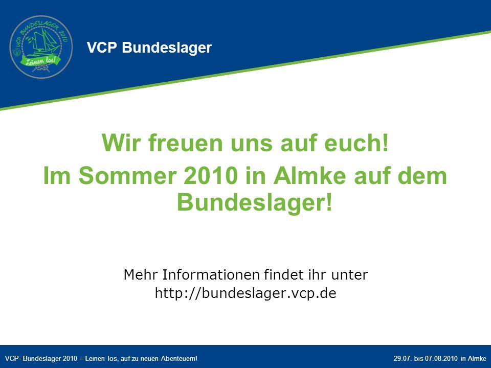 Im Sommer 2010 in Almke auf dem Bundeslager!