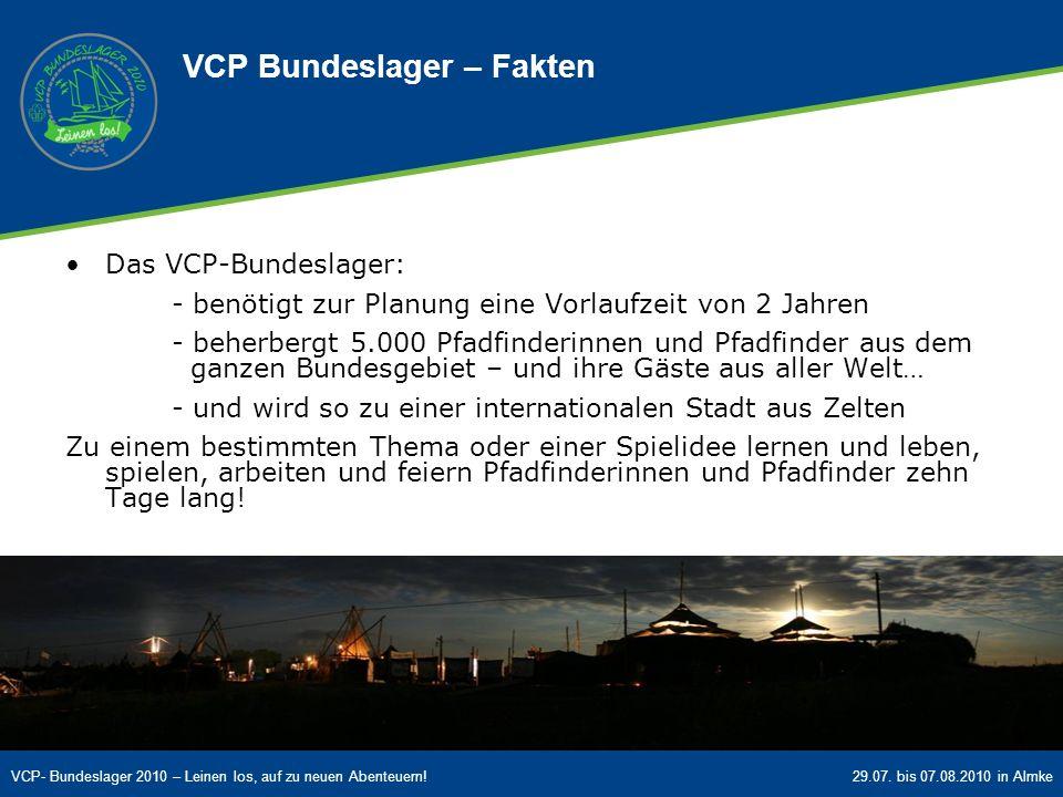 VCP Bundeslager – Fakten