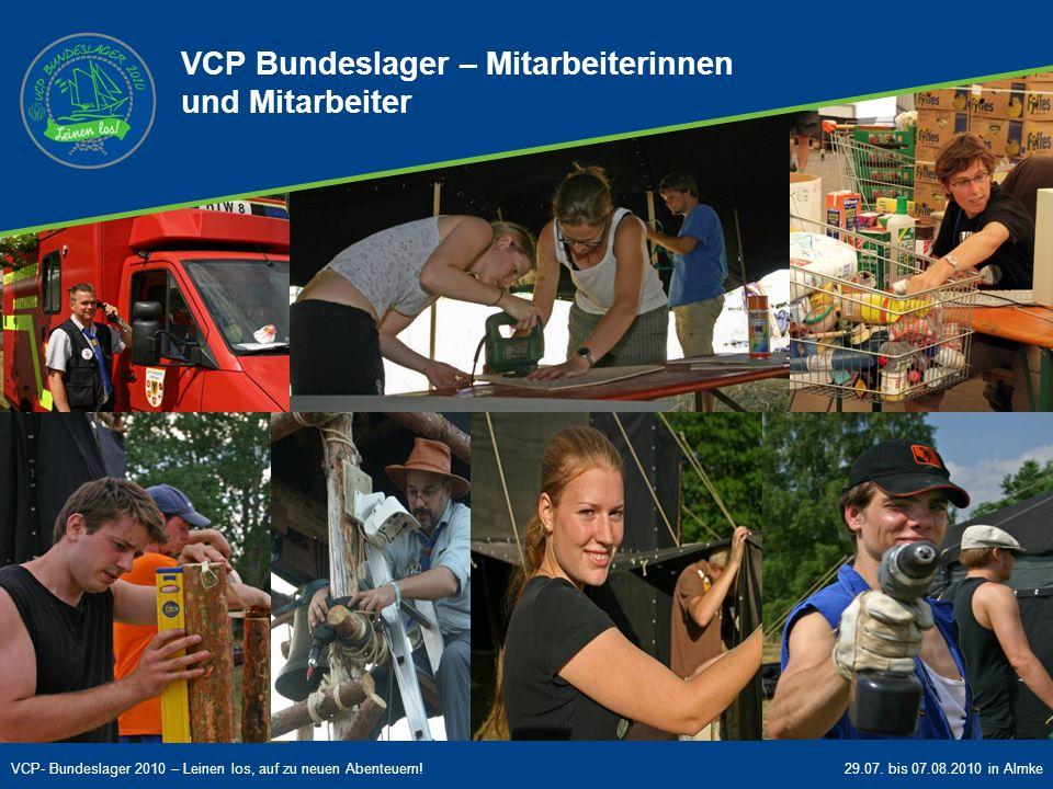 VCP Bundeslager - Mitarbeiterinnen und Mitarbeiter