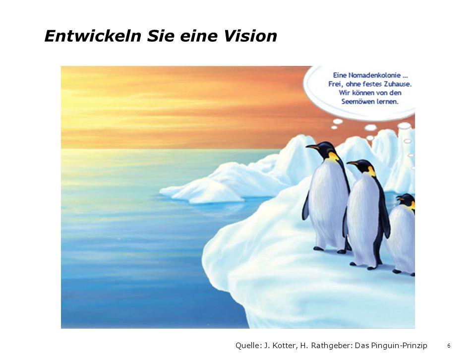 Entwickeln Sie eine Vision