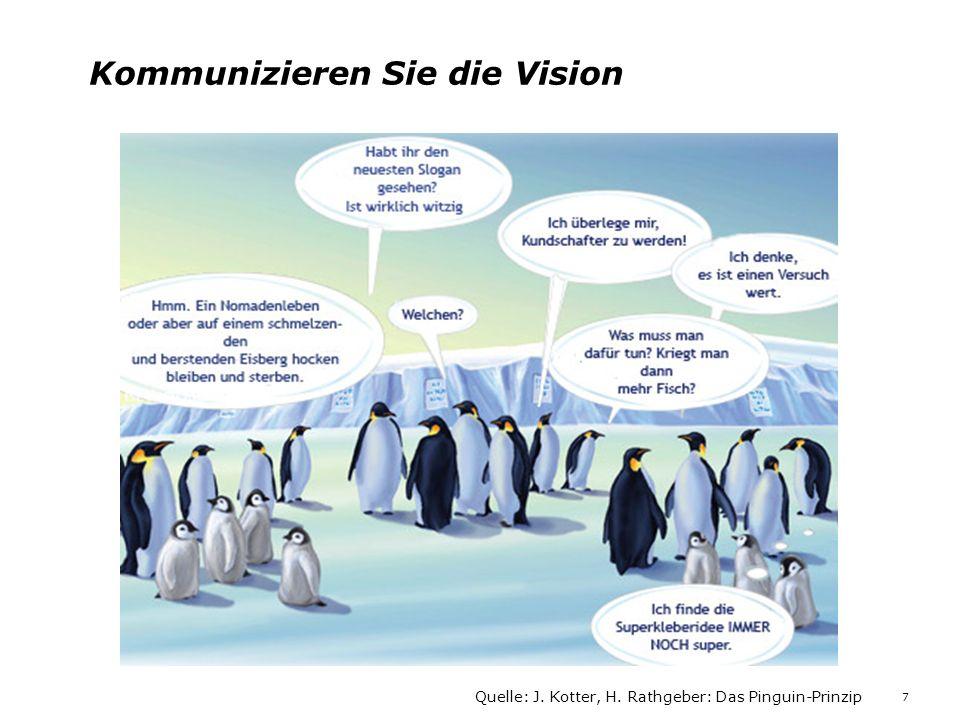 Kommunizieren Sie die Vision