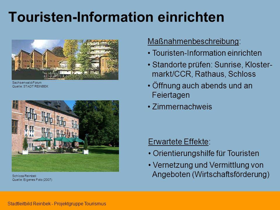 Touristen-Information einrichten