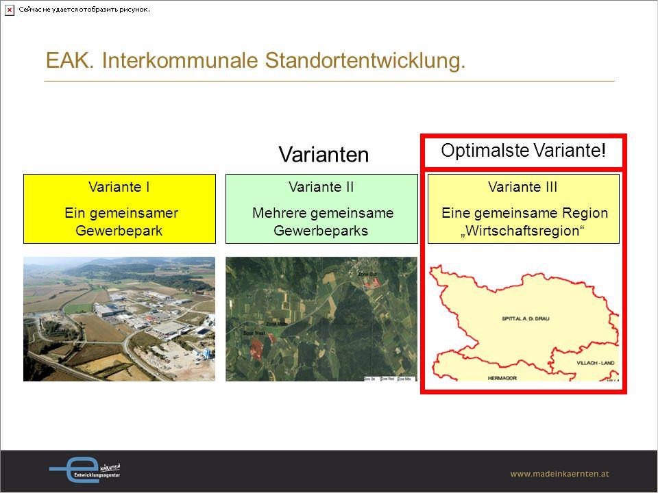 EAK. Interkommunale Standortentwicklung.