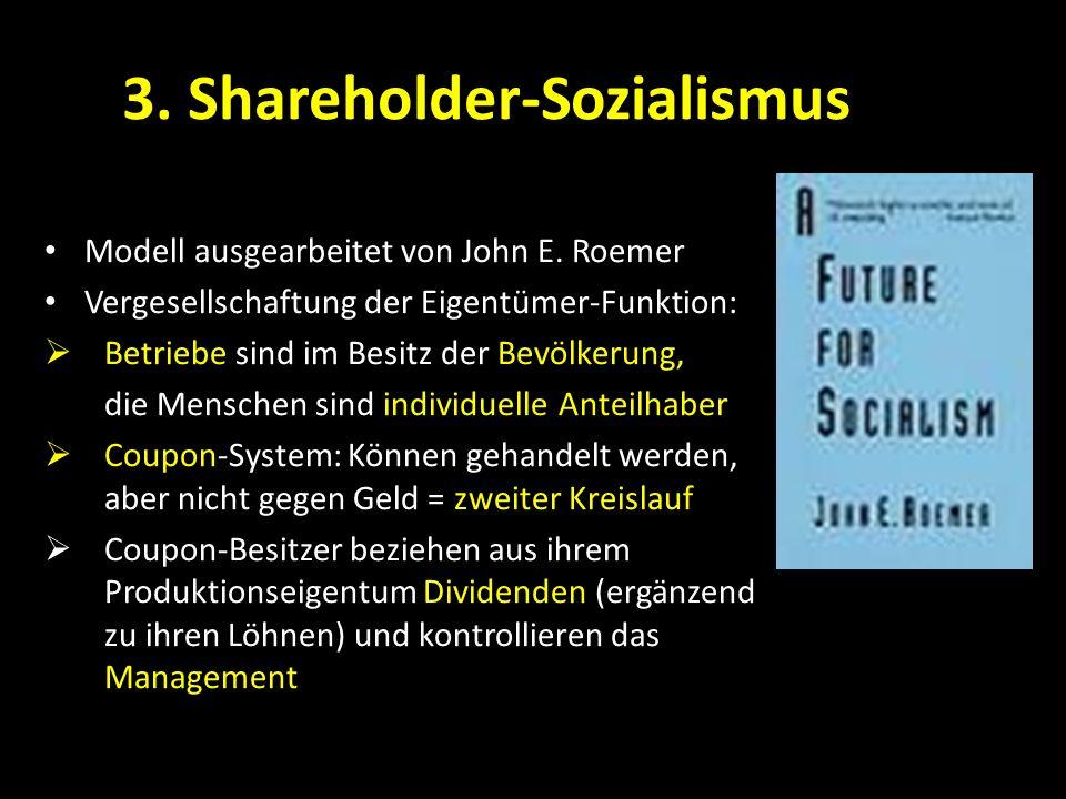 3. Shareholder-Sozialismus