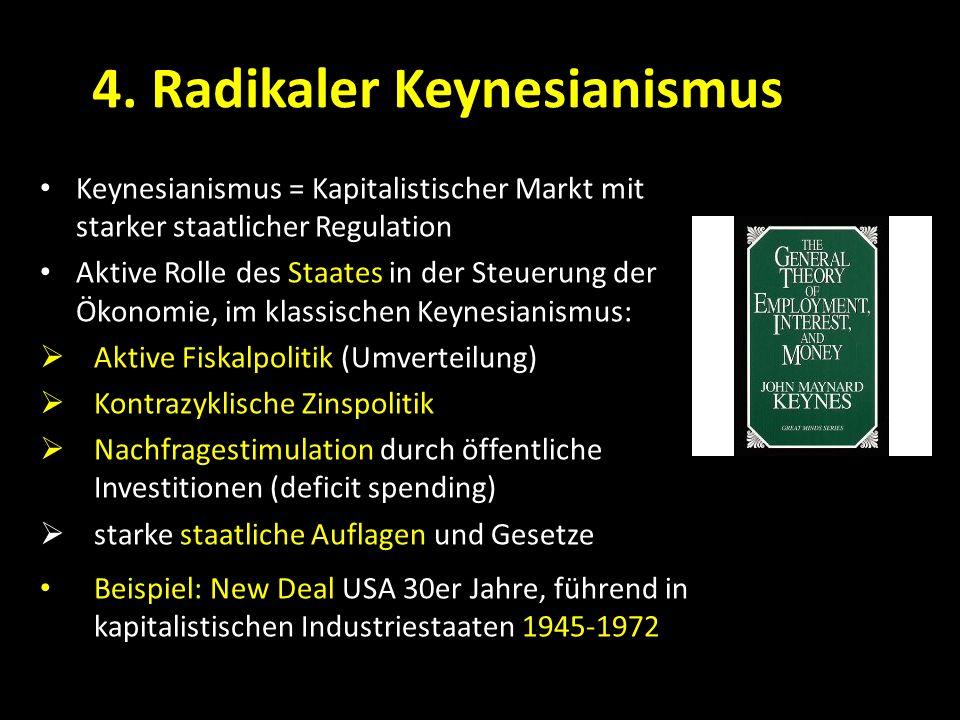4. Radikaler Keynesianismus