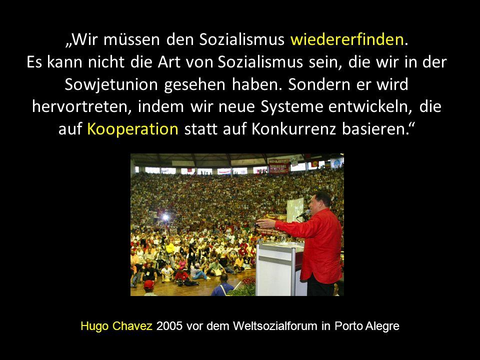 """""""Wir müssen den Sozialismus wiedererfinden."""