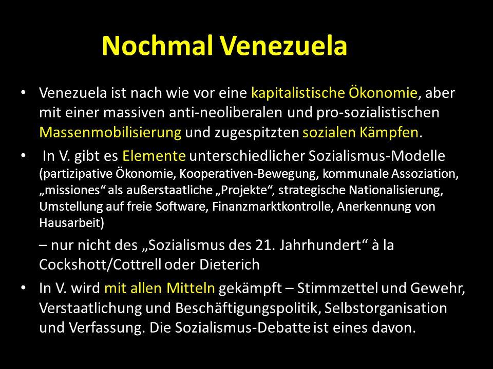 Nochmal Venezuela