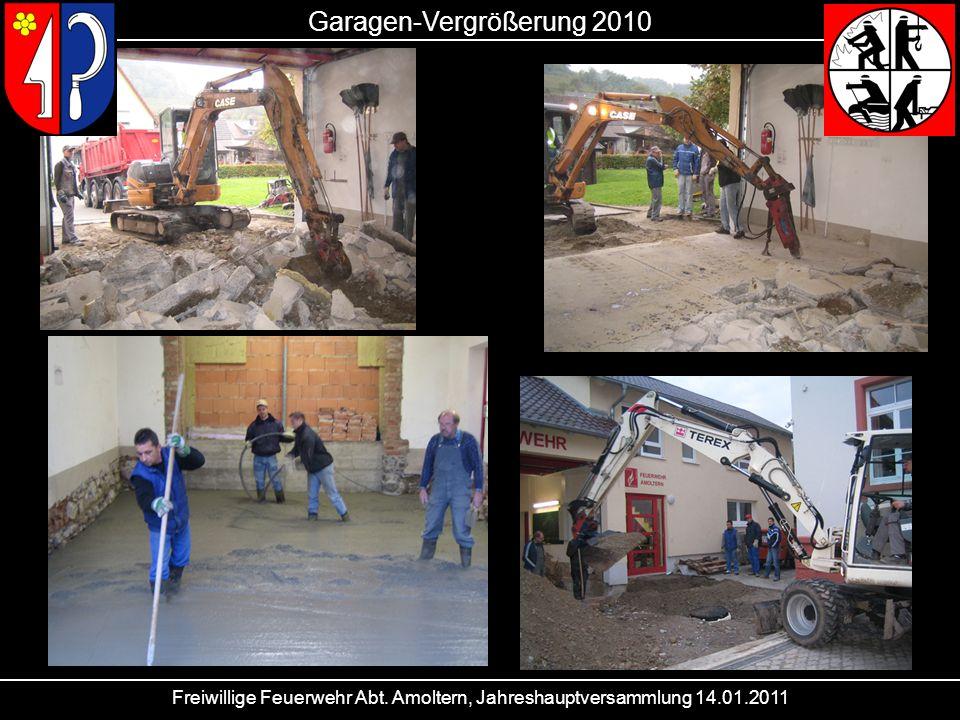 Garagen-Vergrößerung 2010
