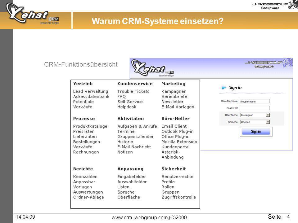 Warum CRM-Systeme einsetzen