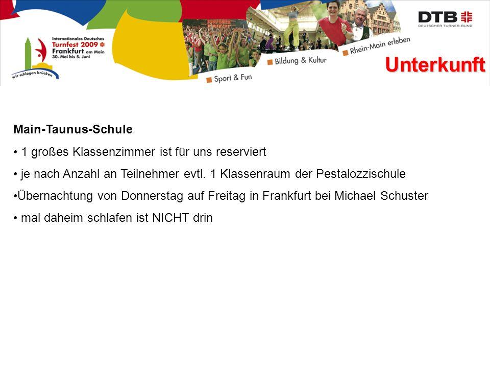 Unterkunft Main-Taunus-Schule