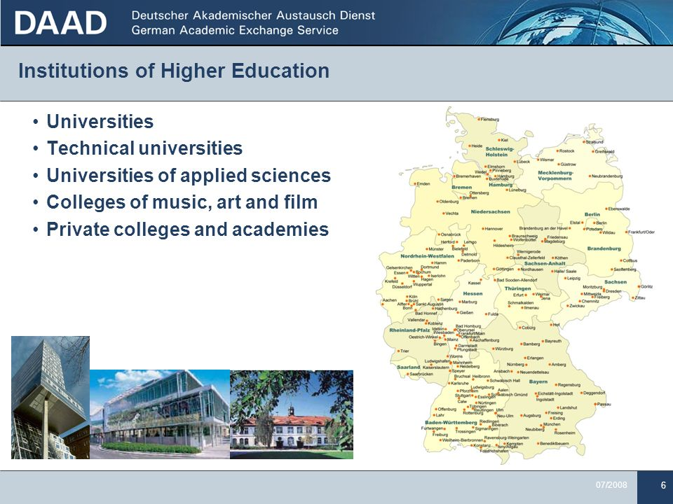 Institutions of Higher Education