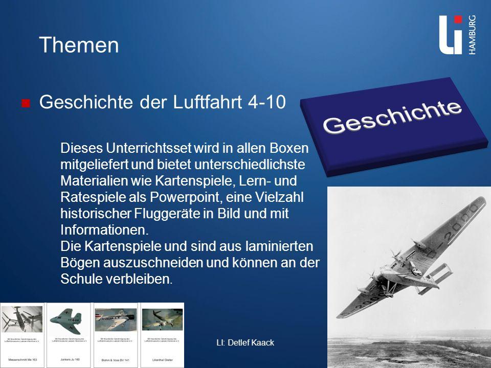 Themen Geschichte der Luftfahrt 4-10