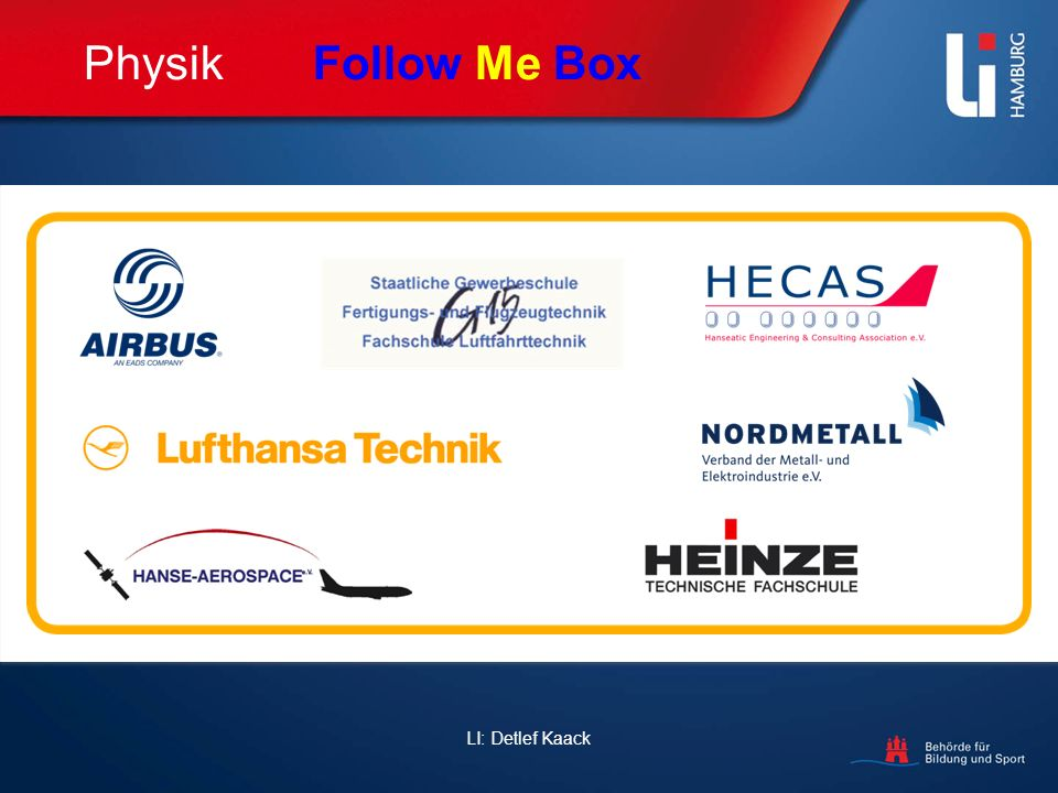 Physik Follow Me Box LI: Detlef Kaack