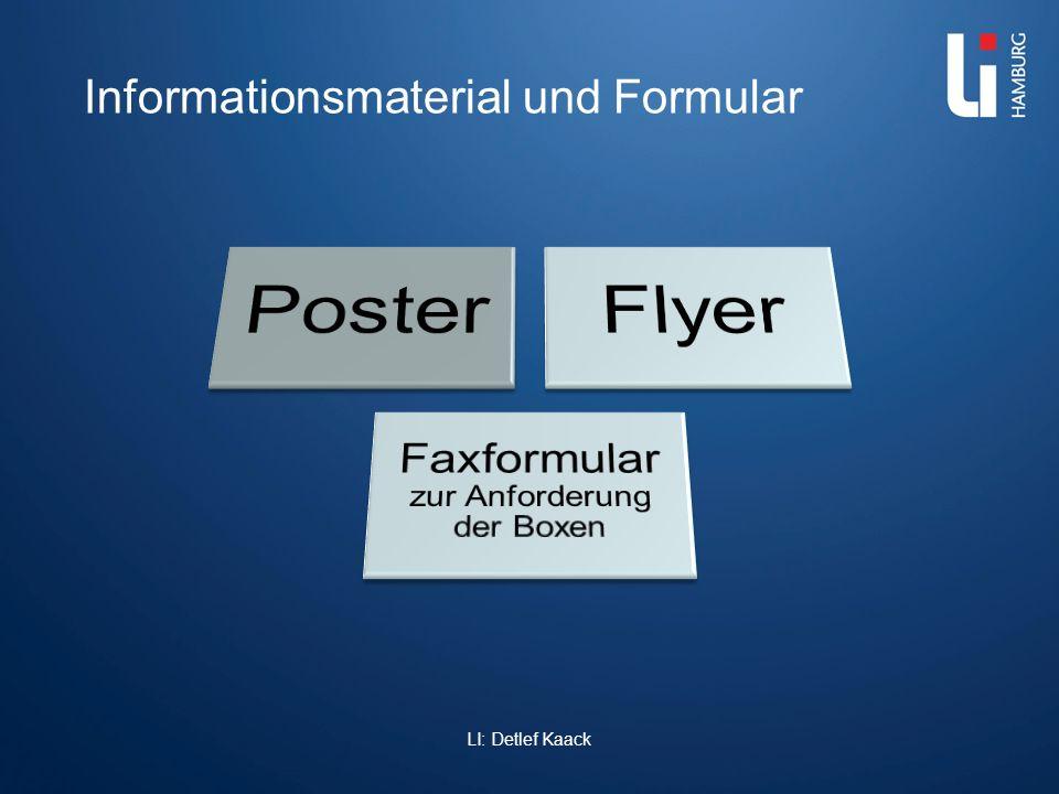 Informationsmaterial und Formular