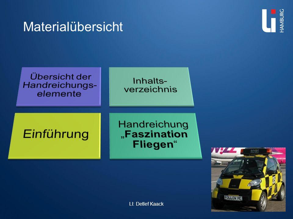 Einführung Materialübersicht LI: Detlef Kaack